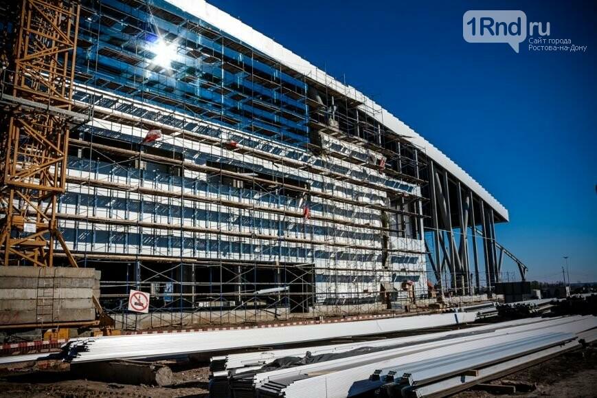 Строительство нового ростовского аэропорта идет сопережением графика