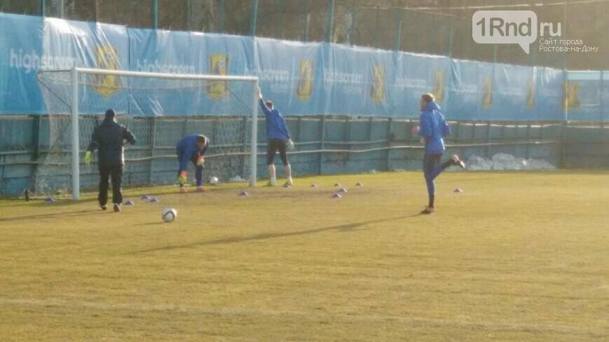 Поле стадиона «Олимп-2» будет идентичным идля «Ростова», идля «МЮ»