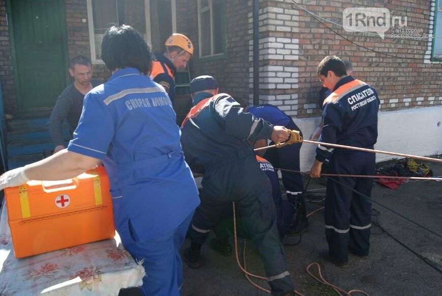 Упавшего вколодец мужчину спасли вНовошахтинске