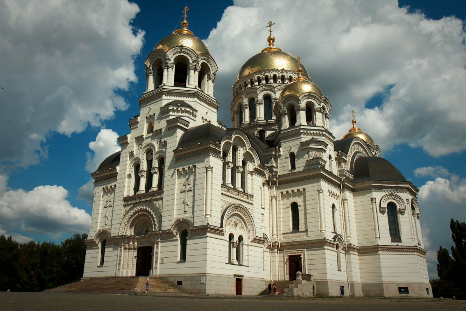 Патриарший Вознесенский войсковой всеказачий кафедральный собор г. Новочеркасска сегодня
