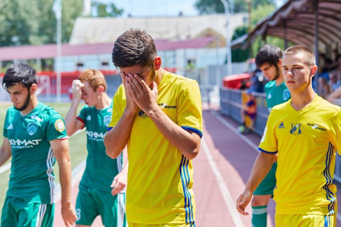 Молодёжные команды «Ростова» и «Ахмата» сыграли вничью, фото-4