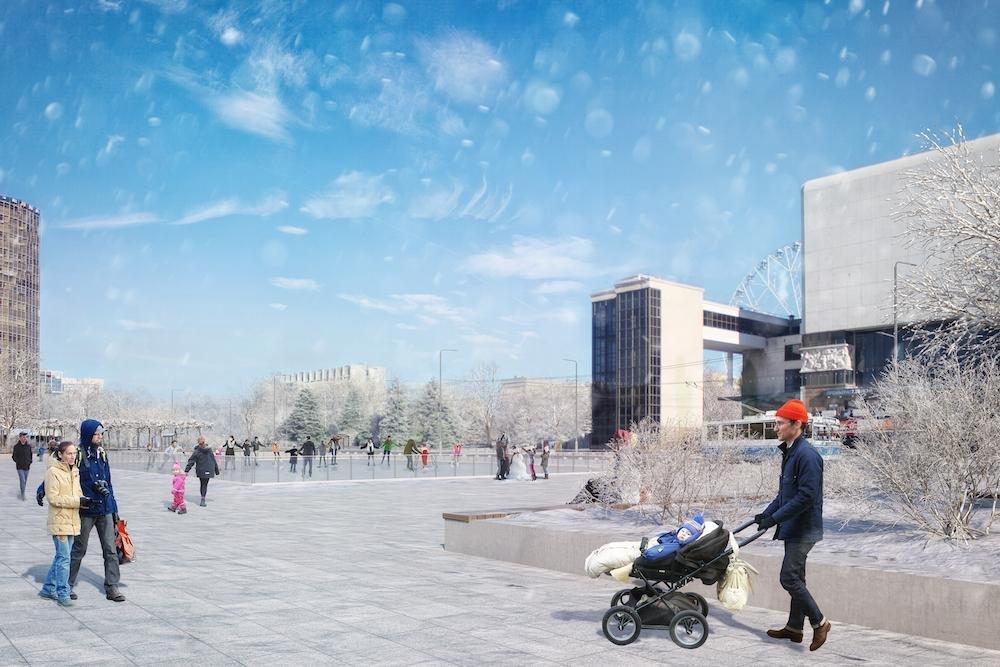 Сквер и «сухой» фонтан хотят сделать на Театральной площади Ростова, фото-2