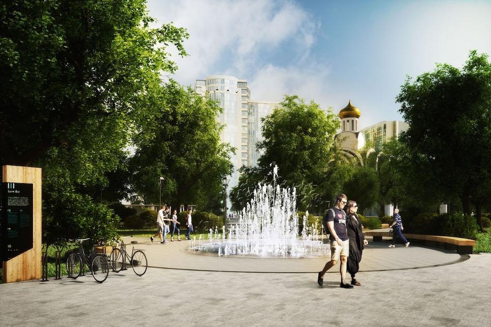 Сквер и «сухой» фонтан хотят сделать на Театральной площади Ростова, фото-7