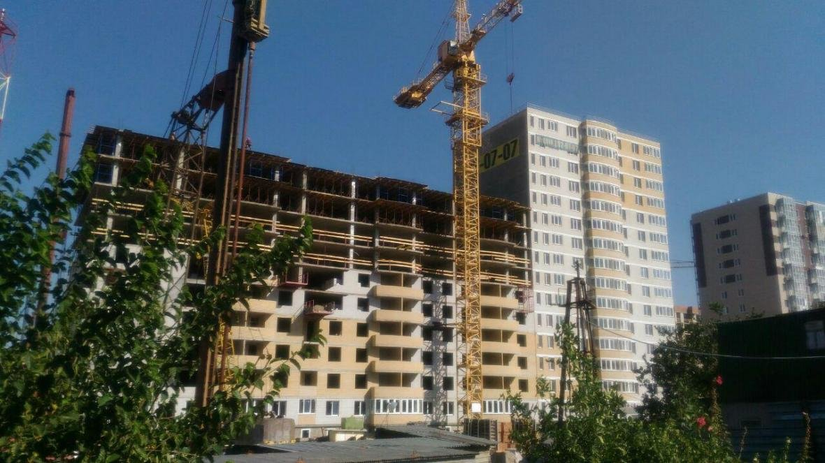 Дома с отдельными помещениями для колясок и велосипедов строятся в Ростове-на-Дону, фото-1