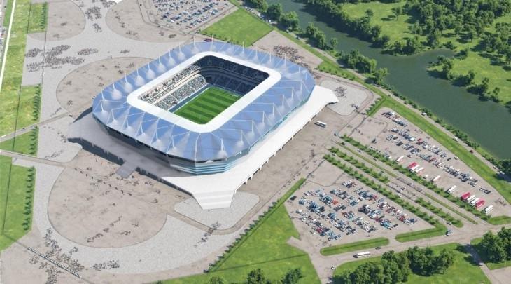 """Стадион """"Калининград"""" ru2018.org"""