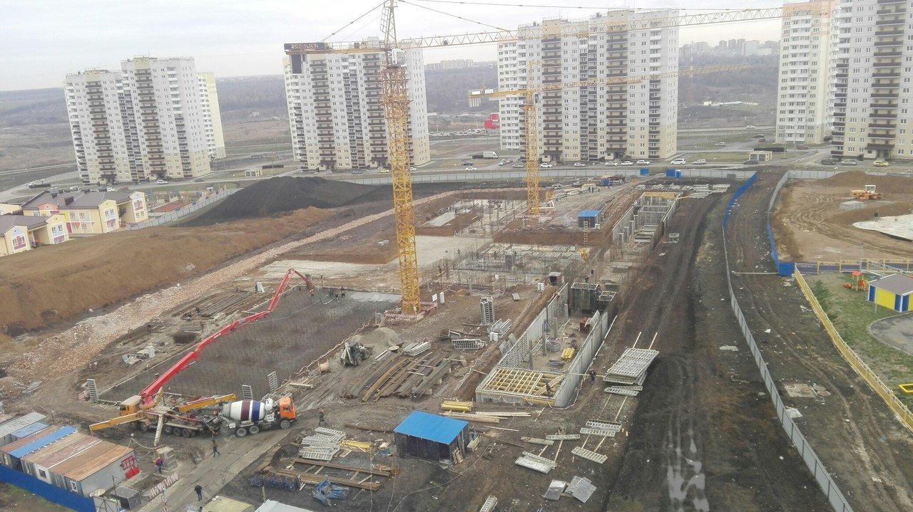 Строительство школы в Суворовском