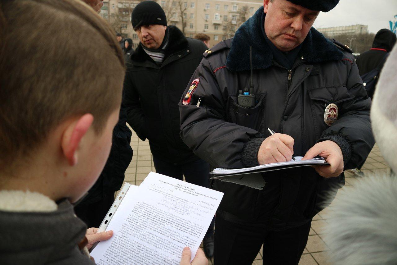На восемь суток арестовал суд главу штаба Навального в Ростове-на-Дону, фото-2