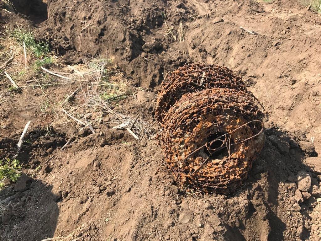 Связку гранат для прорыва обороны врага нашли поисковики «Миус Фронта», фото-2
