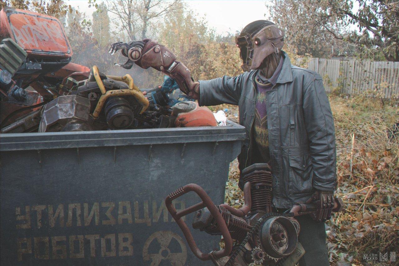 Ростовский художник показал, как будет выглядеть Россия в 2077 году, фото-8, Фото: Евгений Зубков / https://vk.com/4zubkov6