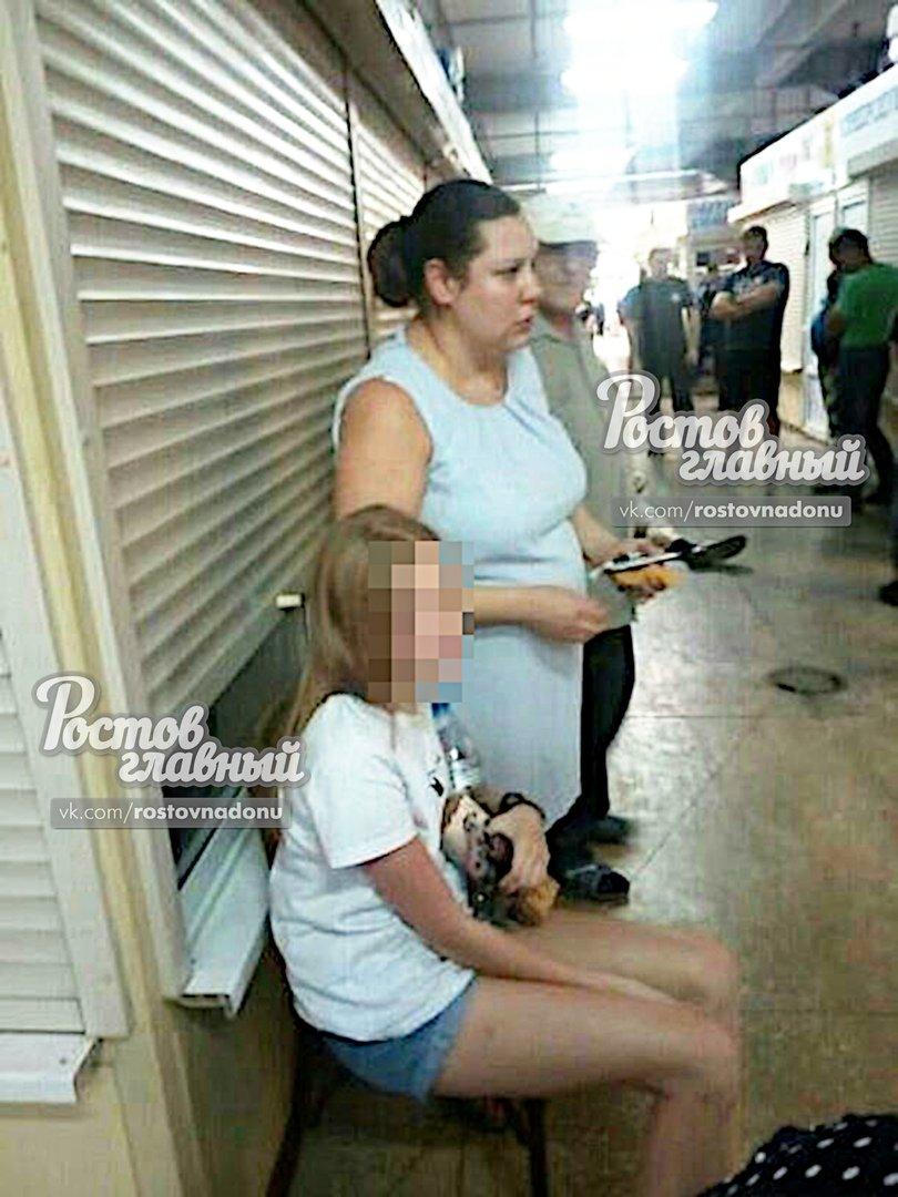 На рынке в Ростове мужчина напал на девочку, фото-1