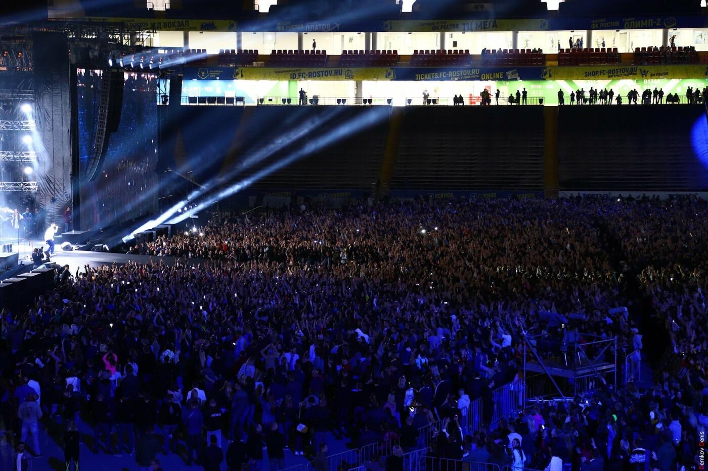 На первый большой концерт Басты в Ростове пришли 35 тысяч зрителей, фото-3