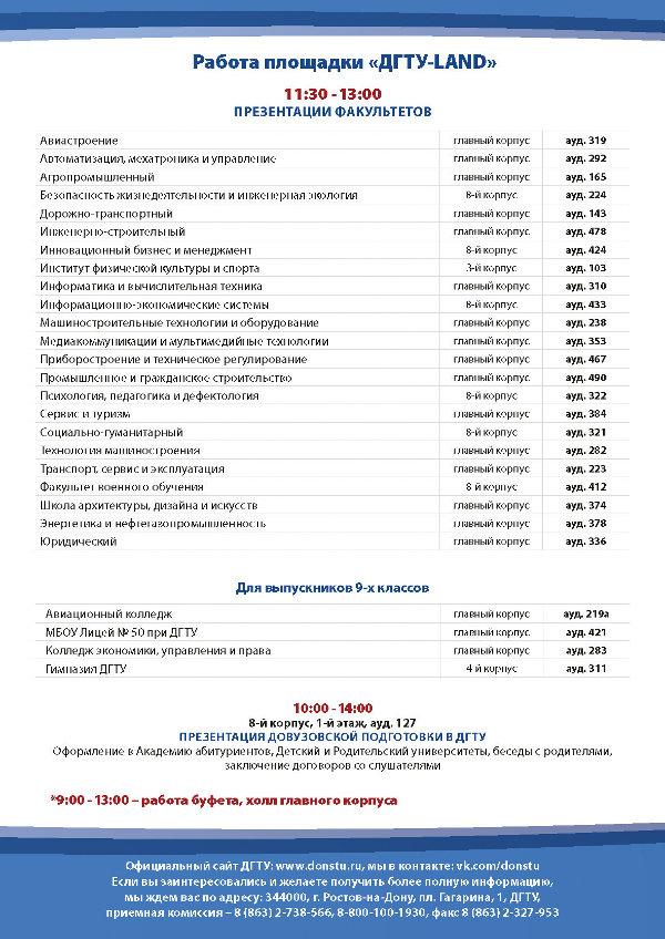 От поступления до трудоустройства: что узнают абитуриенты в  День открытых дверей ДГТУ, фото-2