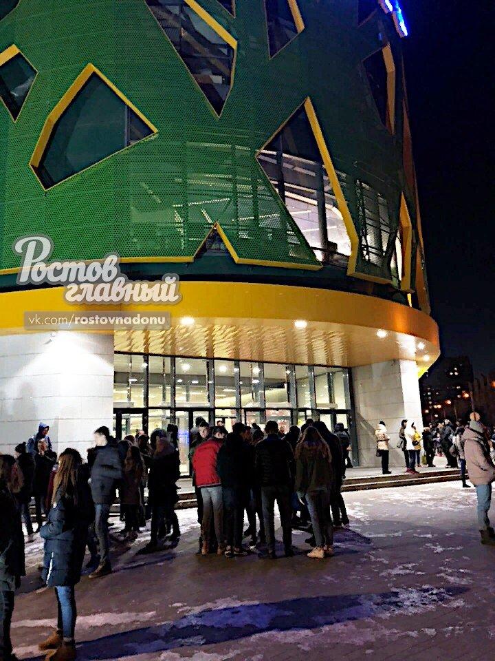 Посетителей и персонал ростовского ТЦ «Парк» эвакуировали, фото-1