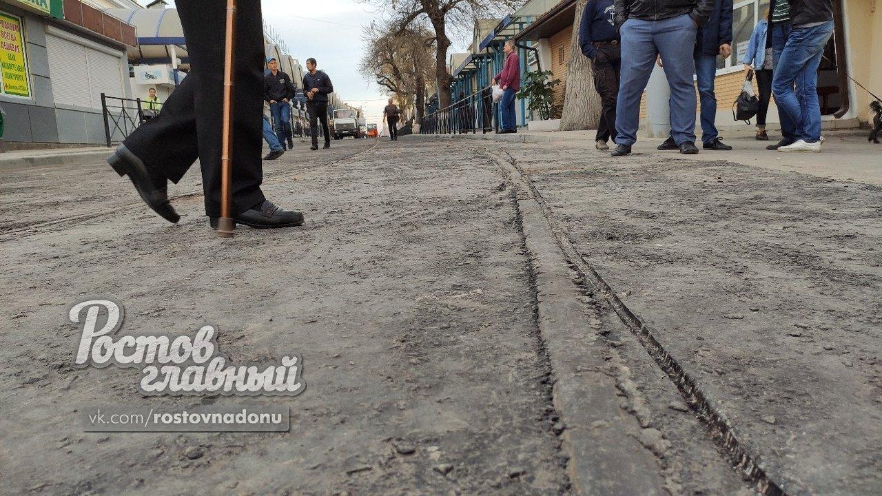 На отремонтированном участке улицы Станиславского сошел с рельсов трамвай, фото-1