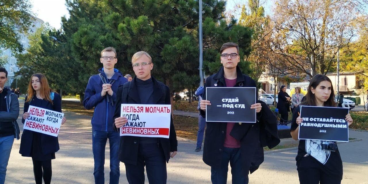"""Заставили спрятать """"Совесть"""": как прошла международная акция в поддержку ростовчан Сидорова и Мордасова, фото-3"""