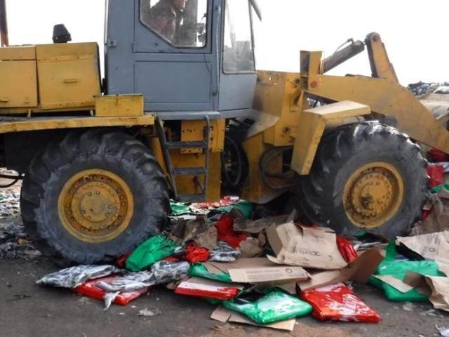 Неменее 20 тонн санкционной рыбы изИсландии уничтожили вНовошахтинске
