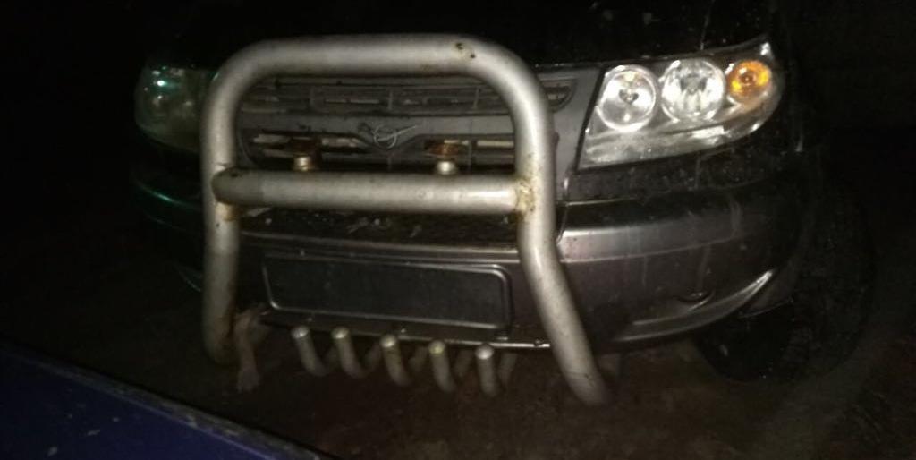 ВРостовской области через границу перебрасывали мешки савтозапчастями