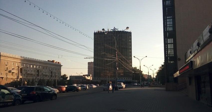 На месяц закроют движение по Театральной площади в Ростове из-за ЧМ-2018