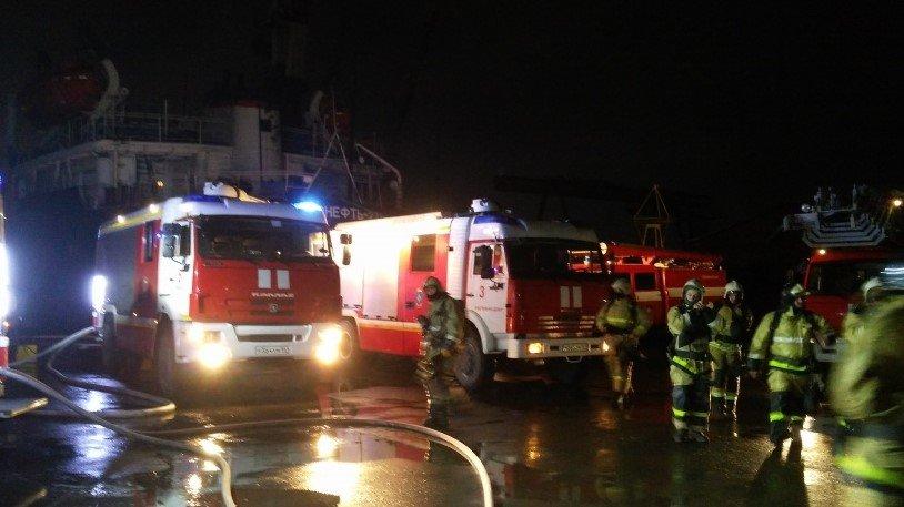 Пожар назаводе «Моряк» вРостове-на-Дону ликвидирован