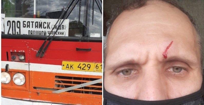 В Батайске водителя автобуса чуть не зарезали за просьбу надеть маску