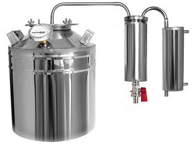 Оборудование для дистилляции самогона